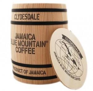 Jamajka Blue Mountain - Beczka z kawą